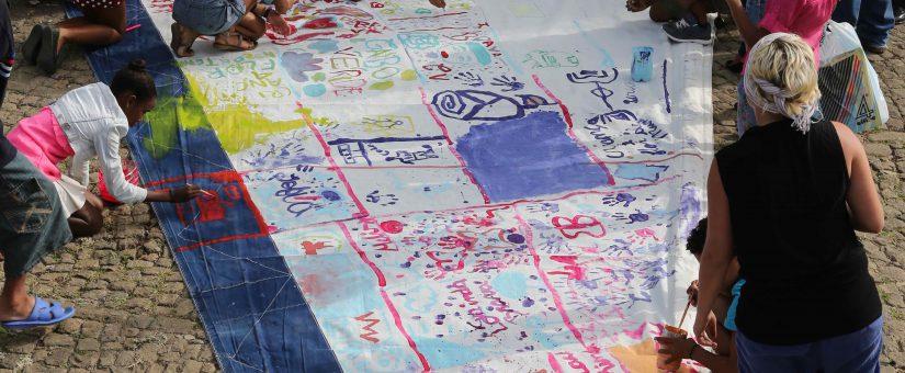 Zeilen beschilderen in de OBA 27 juli – 14 augustus