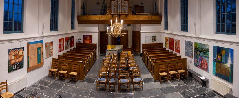 Art and children's dreams in Church in Zuiderwoude