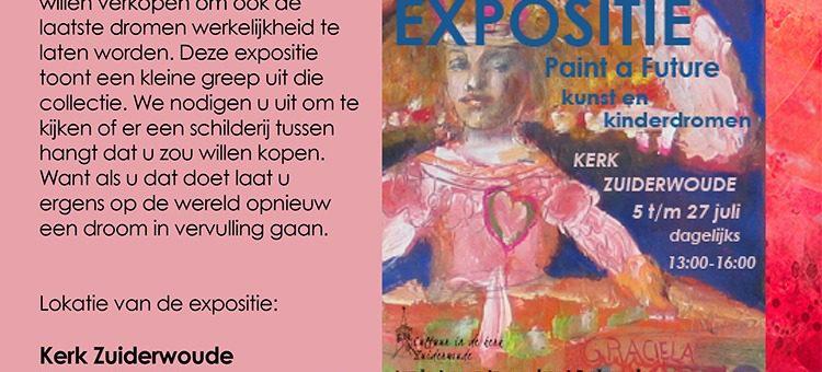 juli 2021. Kunst en kinderdromen in Kerk Zuiderwoude
